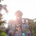 temple of the Crystal Skull at Tokyo DisneySea in Urayasu, Tiba (Chiba) , Japan