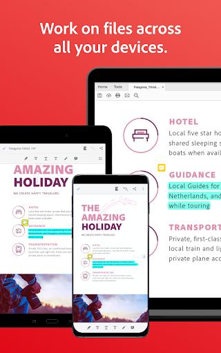 Adobe Acrobat Reader: PDF Viewer, Editor & Creator screenshot 24