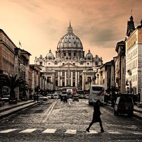 St. Peter Basilica by Jon de Guzman Jr - Landscapes Travel