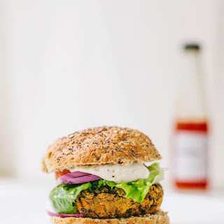 Smoky Sweet Potato & Black Bean Burgers