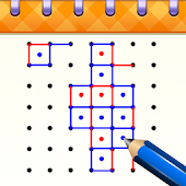 Dots & Boxes: Squares  - Free Connecting Game