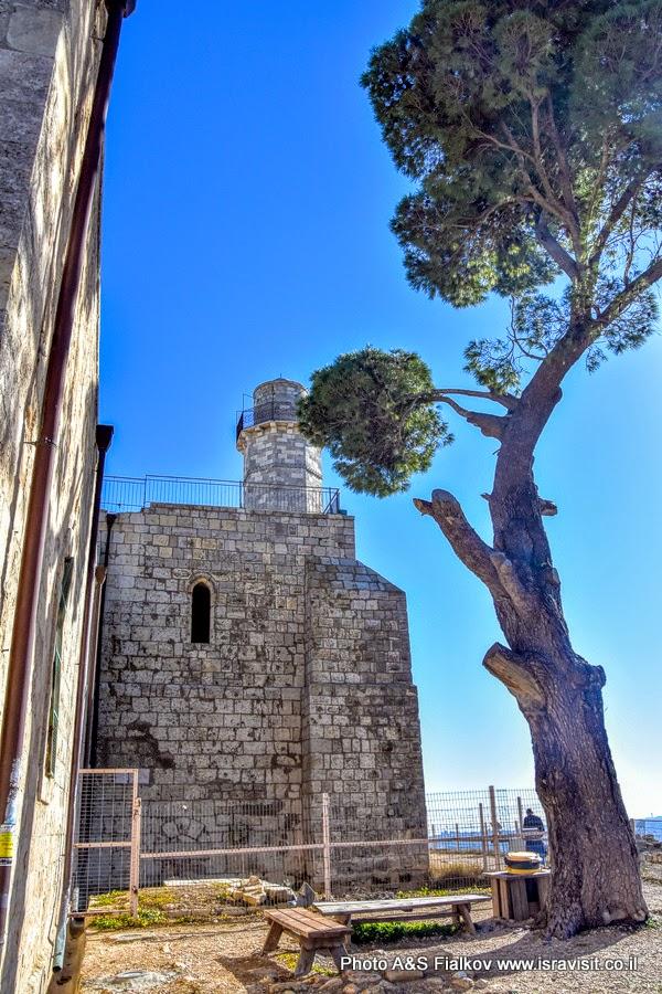 Гробница пророка Самуила на горе Радости или Счастья в Наби Самуэль возле Иерусалима. Экскурсия в Иерусалиме.
