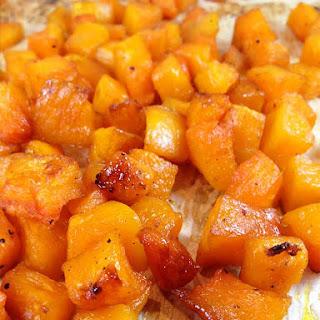 Maple Glazed Roasted Butternut Squash