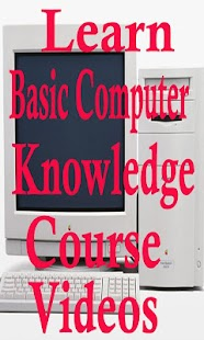 Learn Basic Computer Knowledge Course App Videos - náhled