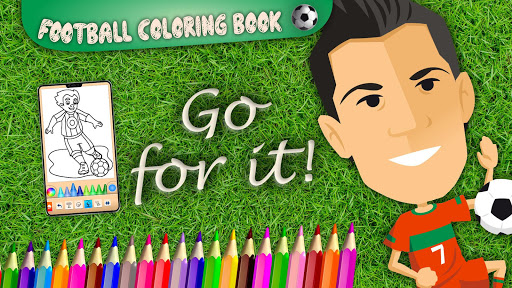 Football coloring book game apkpoly screenshots 8