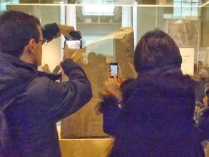 Photo: The famous Rosetta stone!