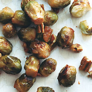 Baby Brussels Sprouts with Buttered Pecans.