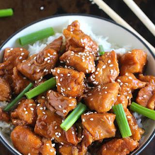 Instant Pot Mongolian Chicken.