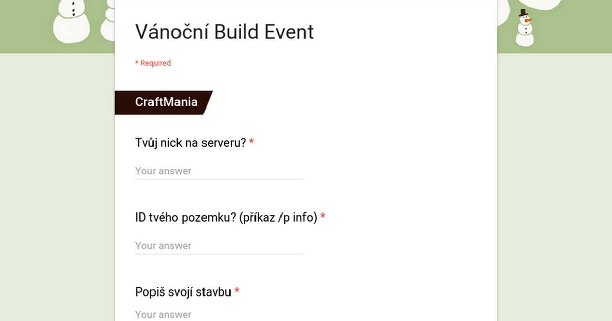 V 225 Nočn 237 Build Event