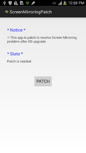 ScreenMirroring Patch screenshot 1