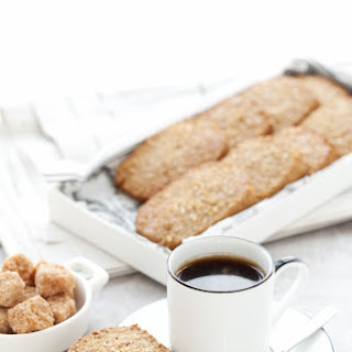 Ginger Spiced Rye Biscuits.