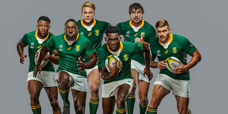 2eb6fca64cf PICTURES   Springboks unveil sleek Rugby World Cup 2019 jersey