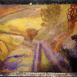 countryside by Paul Robin Andrews - Painting All Painting ( painting, countryside, acrylic )