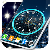 Night Clear Analog Clock Live Wallpapers
