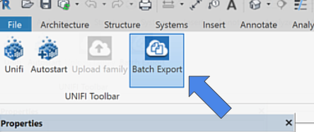 Uploading Content with Batch Export