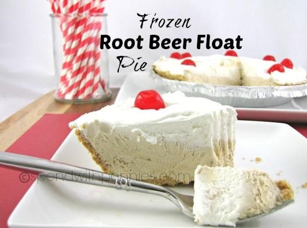 Frozen Root Beer Float Pie Recipe