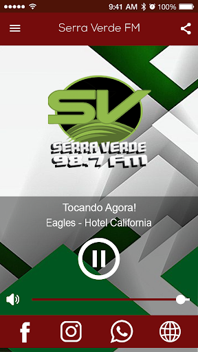 Rádio Serra Verde FM screenshot 1