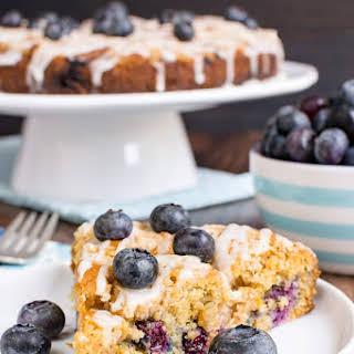Blueberry Orange Crumble Cake.