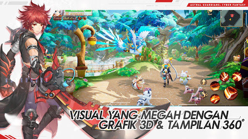 Astralu00a0Guardians:u00a0Cyber Fantasy screenshots 2
