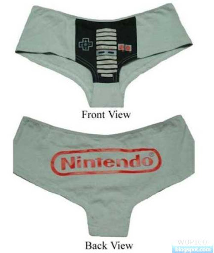 Nintendo Wii Underwear