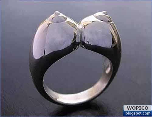 wonderful pic colection unique ring shape