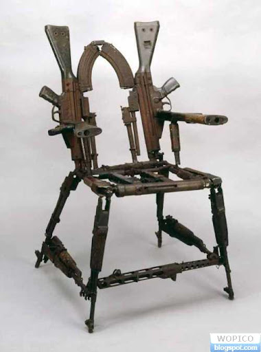 Chair from various Gun