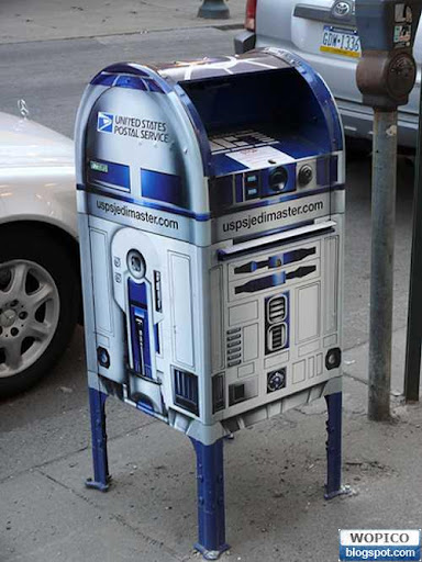 Futuristic Mail Box