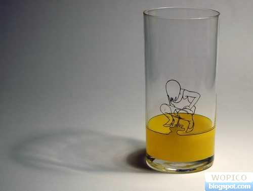 Funny Glass Pict