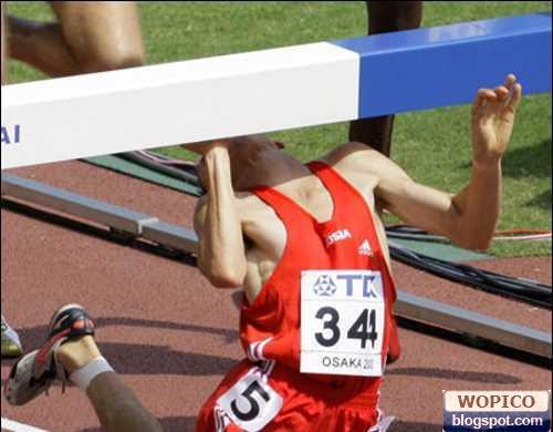 Athlete Fall