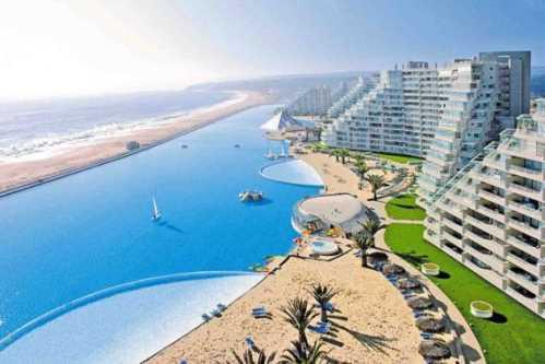 Pool or Ocean