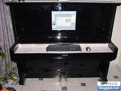 Piano PC Case
