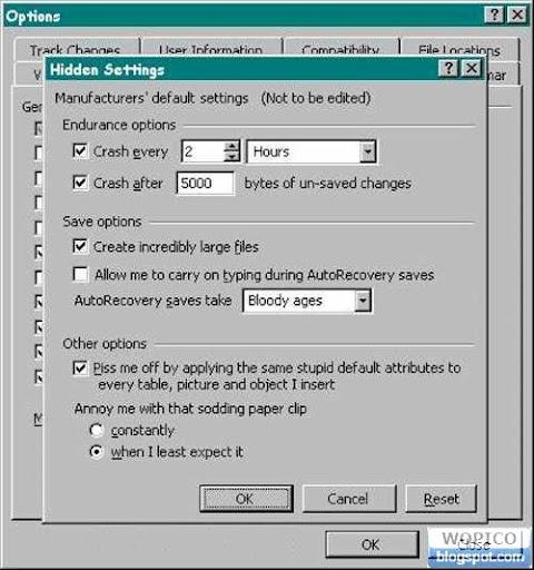Windows Setting
