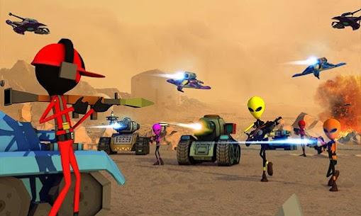 Creepy Aliens Battle Simulator 3D 4