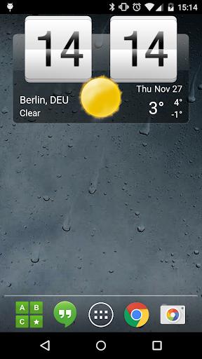 Sense Flip Clock & Weather Pro v3.02.02 [Paid]