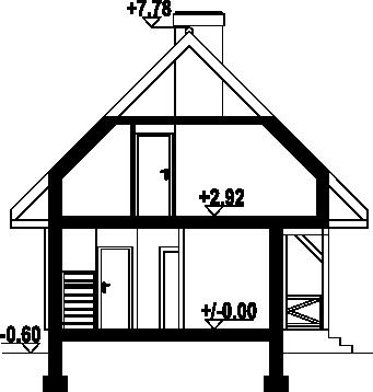 Bartnowice dw-01 - Przekrój