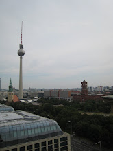 Photo: The Berlin TV Tower and Rathaus