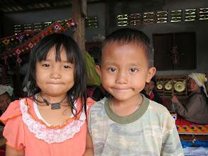 Photo: Kids at the handicrafts workshop