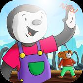 Tchoupi et doudou - adventure