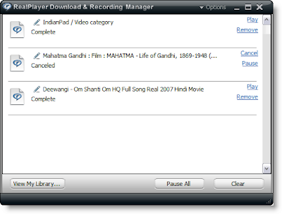 Realplayer 11 Download Manager