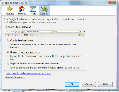 Removing Google Toolbar Search Box - 2