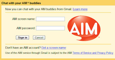 Tech Dreams: Chat With AOL Messenger Buddies From GMail