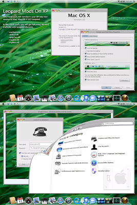 Mac OS X look of XP