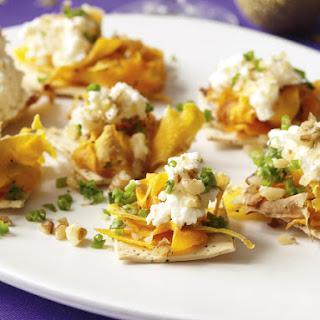Roast Pumpkin and Ricotta Lavash Crackers