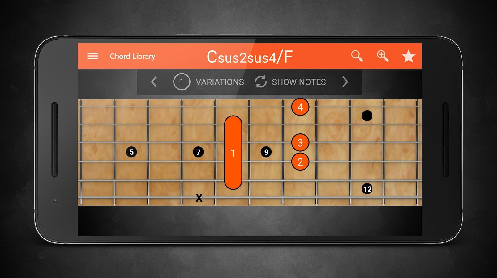 machine chords