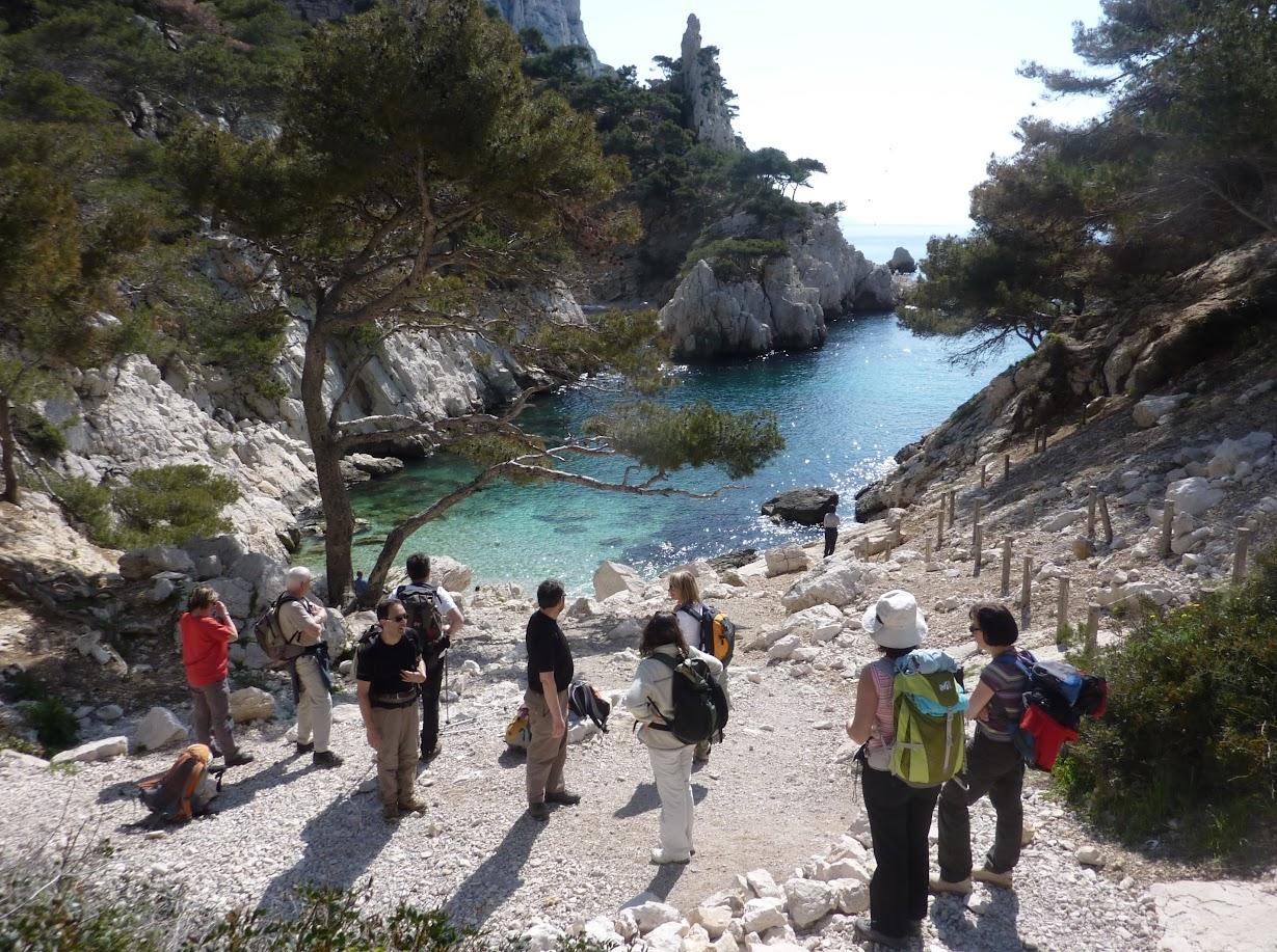 Каланки (Massif des Calanques) , каланки Марселя