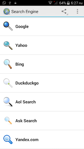 Search Engines | Premium Screenshot