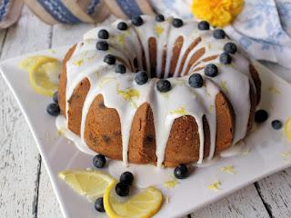 Beautiful Blueberry Lemon Bundt Cake Recipe