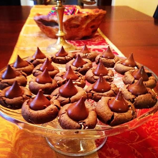 Chocolate Coconut Kissy Cookies Recipe