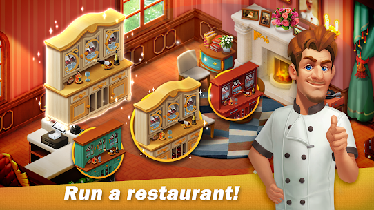 Restaurant Renovation MOD APK [Unlimited Stars] 1.10.4 5