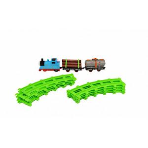 Set circuit cu trenulet Thomas, 11 piese